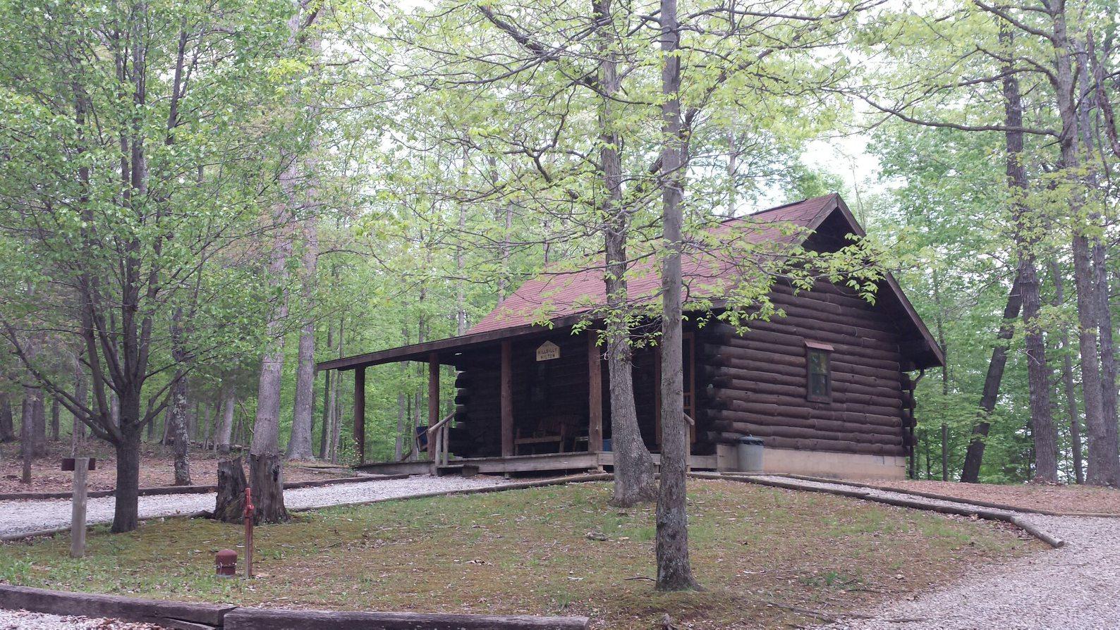 High Ridge Log Cabin Rentals 812-595-8088 Mauckport, IN
